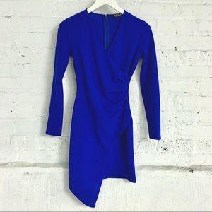 AKIRA royal blue mini dress S